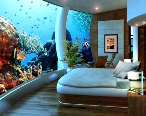 Fiji Poseidon under the sea room