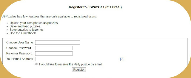 register, jspuzzle