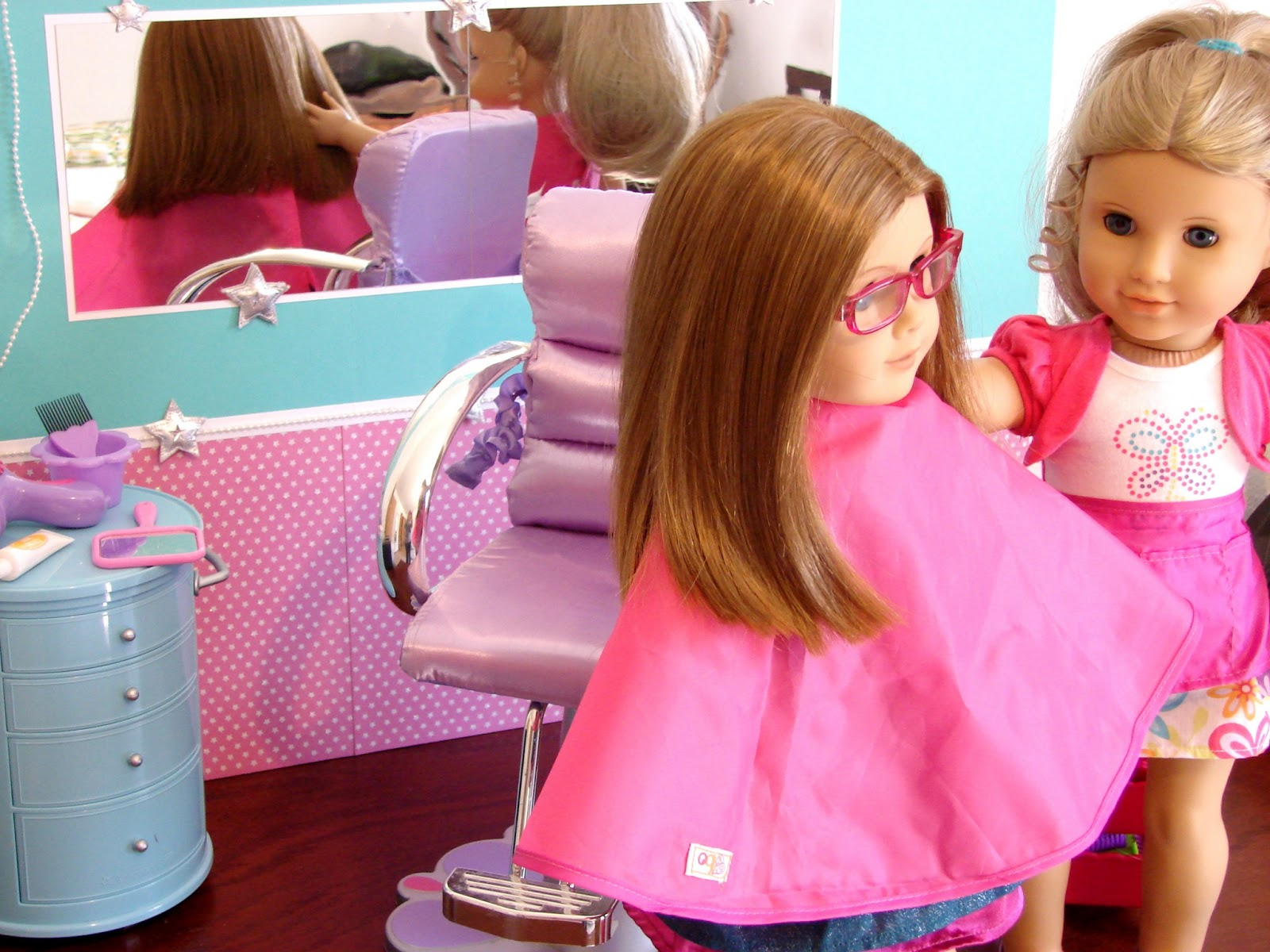 Doll Salon Chair Baxton Studio Chairs American Girl Play Crafting Make A