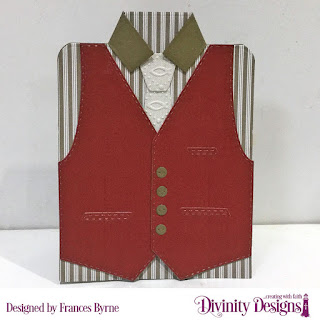 Divinity Designs Custom Dies: Couture Collection, Embossing Folder: Fish, Paper Collections: Menswear Material, Old Glory