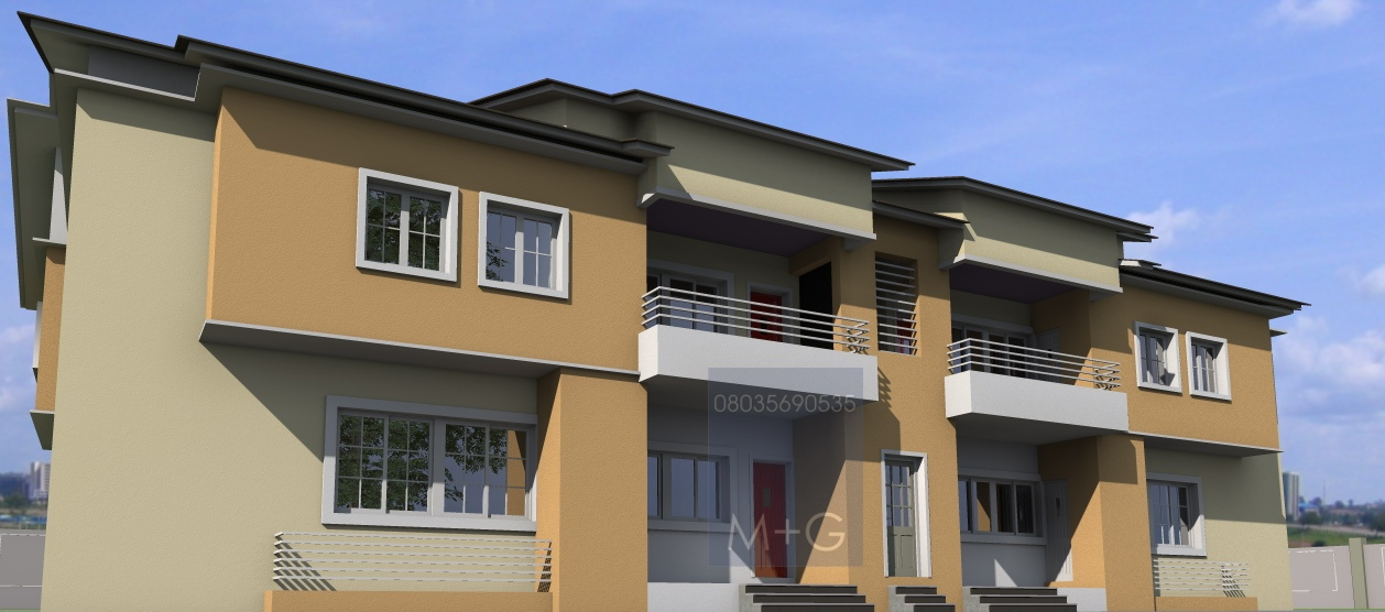 Contemporary Nigerian Residential Architecture: 4 Units of ...