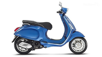 New Vespa SXL 125 side view image