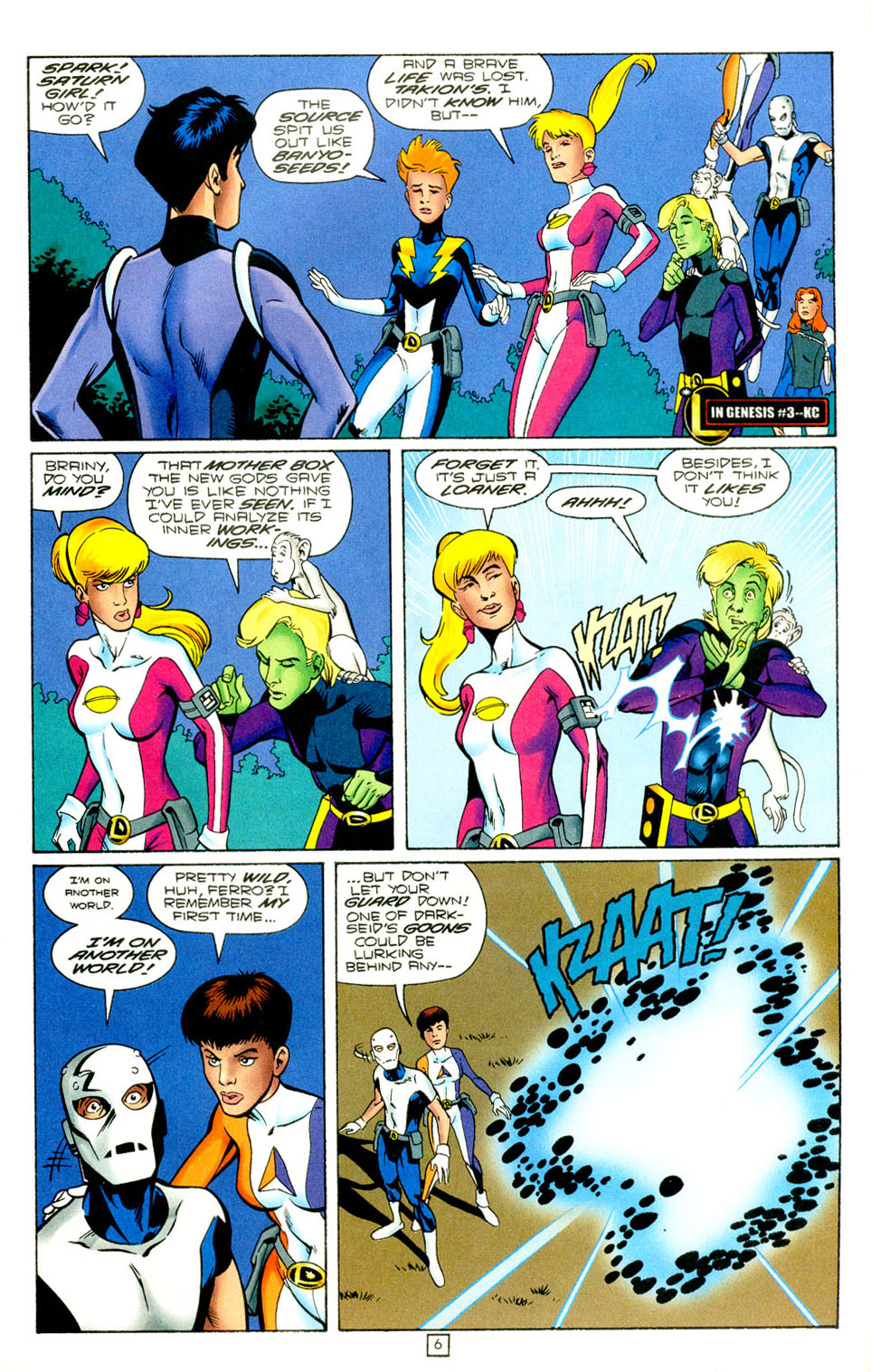 Legion of Super-Heroes (1989) 97 Page 5