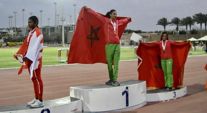 المنتخب الوطني لألعاب القوى يكتسح البطولة العربية بمصر بحصد 34 ميدالية