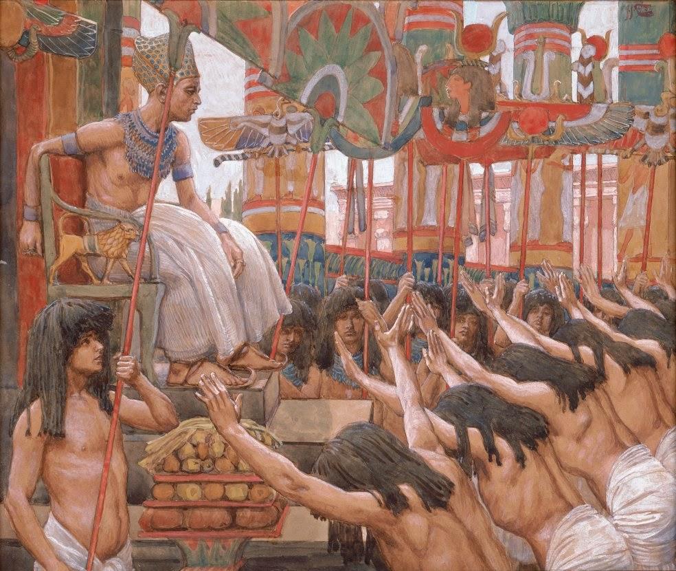 יוסף שליט מצרים - ג'יימס טיסוט