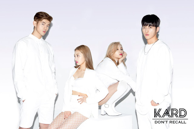 Kard Reveal Group Teaser Image For Don T Recall Daily