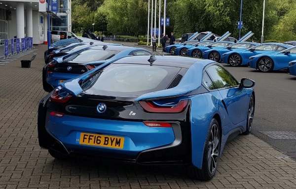 BMW i8 Leicester City