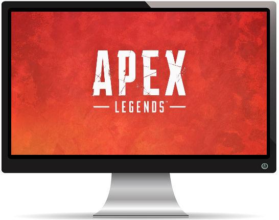 Apex Legends Titre Rouge - Fond d'écran en Full HD 1080p