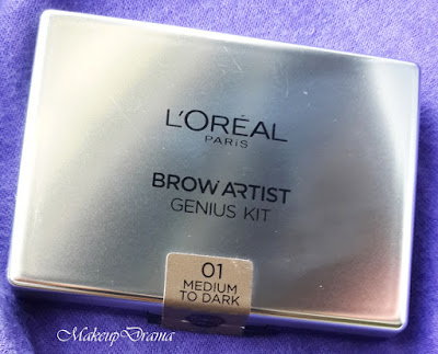 makeupdrama l 39 oreal brow artist genius kit review swatches. Black Bedroom Furniture Sets. Home Design Ideas