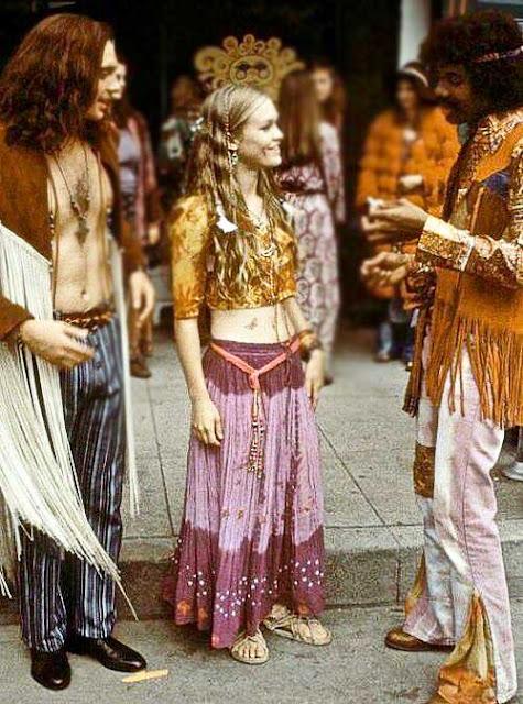Estilo Hippie anos 60