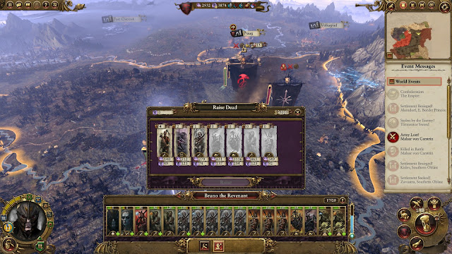 Review – Total War: Warhammer vampire campaign