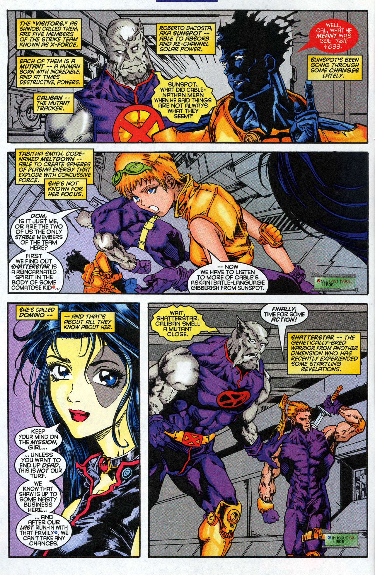 Read online X-Force (1991) comic -  Issue #62 - 8