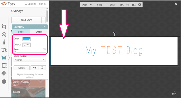 How to: Create a Blog Header using Picmonkey