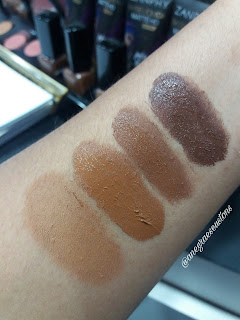 Pérola Negra Swatches base da Zanphy