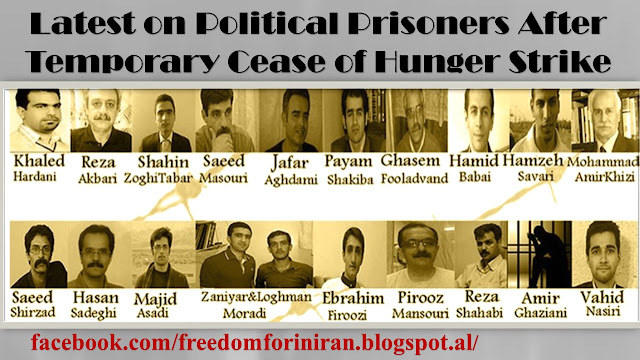 Latest on Political Prisoners After Temporary Cease of Hunger Strike