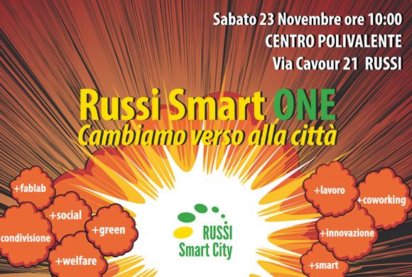Russi Smart City - Evento Russi Smart ONE - 23 Novembre