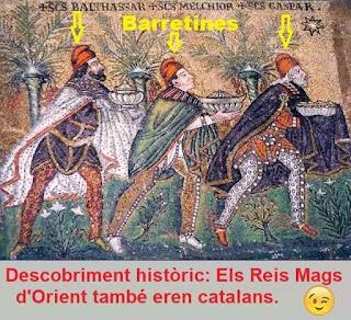 Reyes magos catalanes