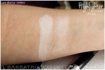 swatches highlighter powder  -  DIVAGE  - StayGlam Collection Spring/Summer 2016