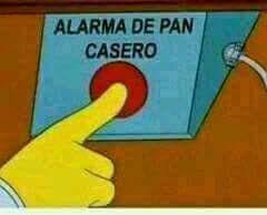 Alarma de pan casero (Simpsons)