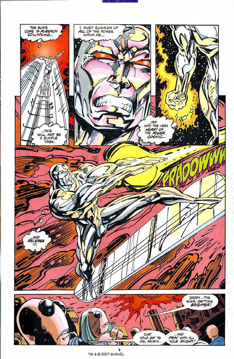 Silver Surfer (1987) Issue #103 #111 - English 11