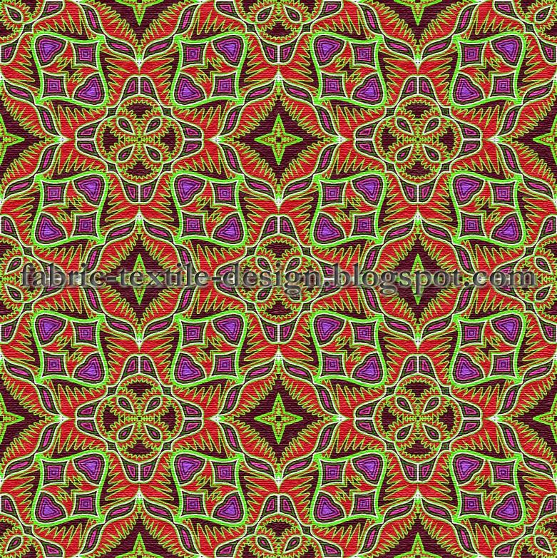 Digital textile printing seamless pattern velvet for Fabric printing