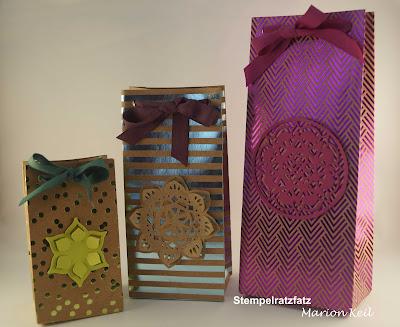 Geschenktüten mit dem Gift Punch Board von Stampin´ Up!