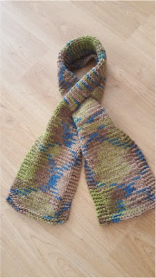 Knit Fall Scarf