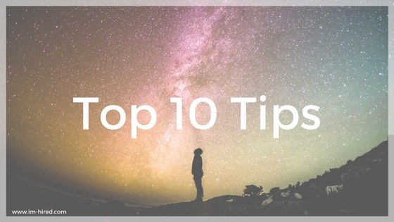 My Official Top 10 Tips - Learning the Tricks of the Trade