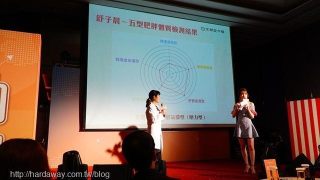 京都堂中醫記者會_主持人舒子晨五型檢測