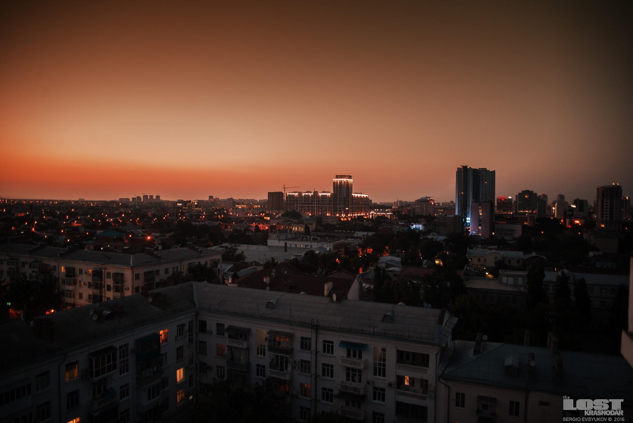 Панорама на центр Краснодара