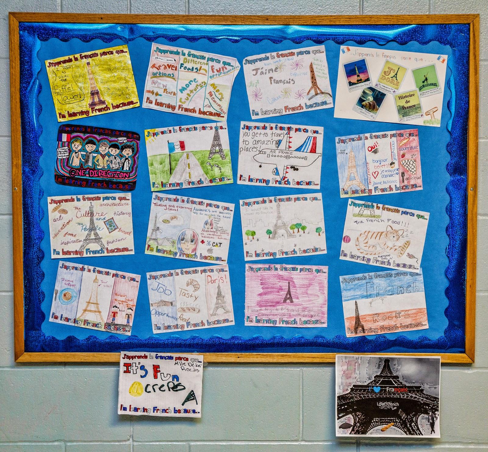 Le Blog De Francais 7 J Apprends Le Francais Parce Que