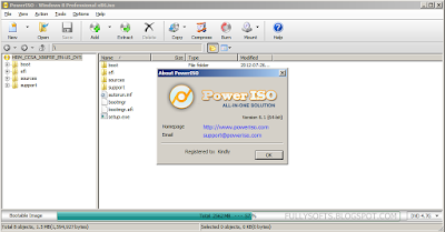 Download PowerISO 6.3 Full Version Incl. Patch