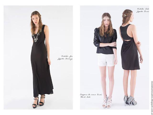 La cofradia 2017 moda primavera verano 2017 vestidos largos y cortos.