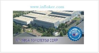 Lowongan Kerja Operator Produksi 2016 PT. NTC ( Nusa Toyotetsu Corporation)