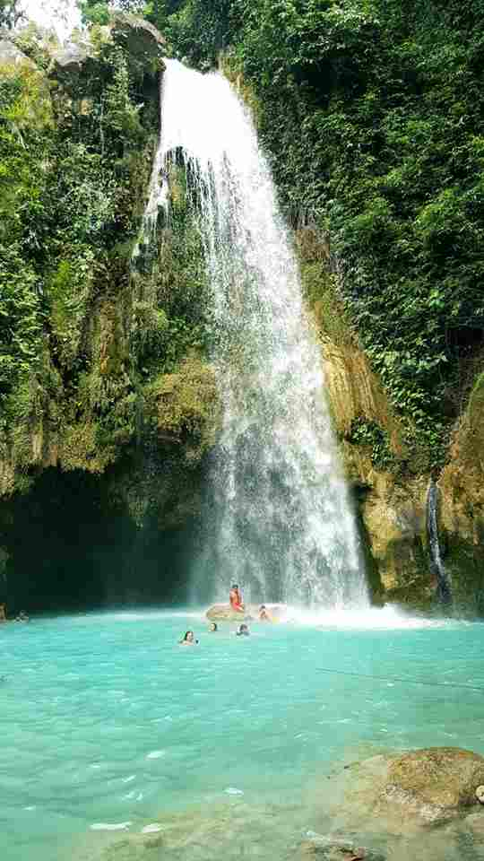 The Most Majestic Famous Waterfalls and Best Adventurous Inambakan Falls in Ginatilan Cebu Philippines 2018