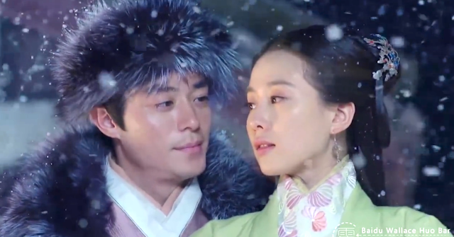 Wallace Huo and Liu Shi Shi in ep 12 of Imperial Doctress