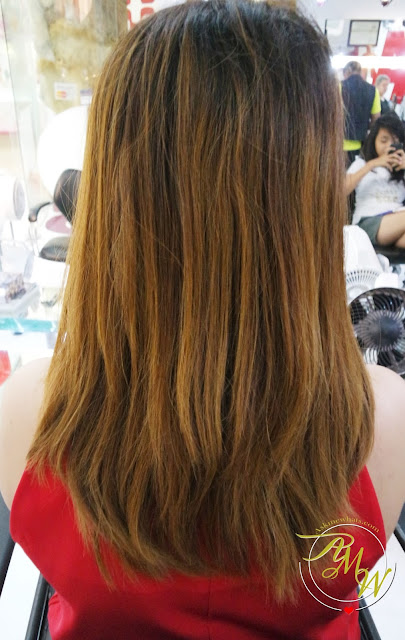 a photo of Hairshaft Balayage and Brazilian Blowout
