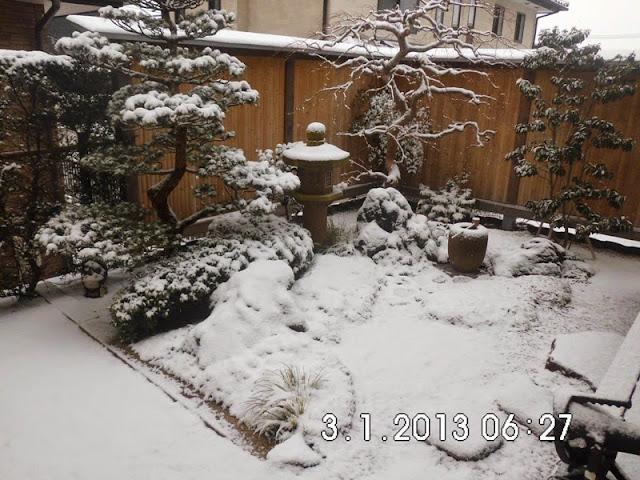 Salju di Sendai