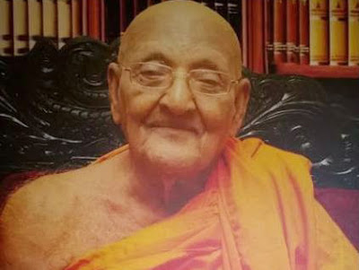 The Chief Incumbent of the Asgiri Chapter Venerable Galagama Sri Attadassi thera passed away short while ago