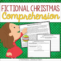 Christmas Fictional Reading Comprehension- How I survived my emergency Christmas sub plans