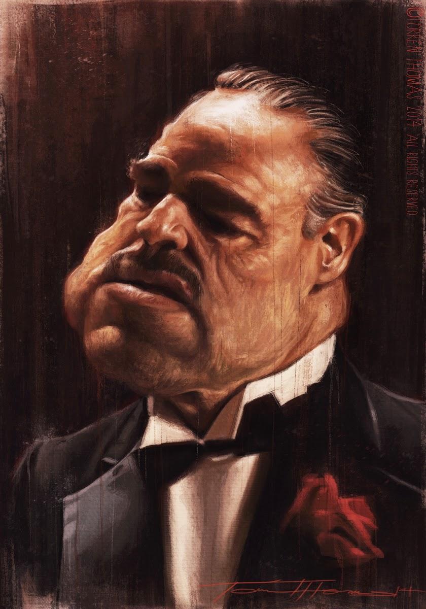 """Marlon Brando"" por Torren Thomas"