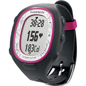 Garmin fitness watch with heart rate monitor