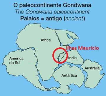 Evidências de Continente perdido é encontrado nas Ilhas Maurício