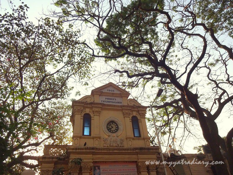 Mumbai Undiscovered - Prince's Triumphal Arch Heritage Clock Tower at Mahalaxmi