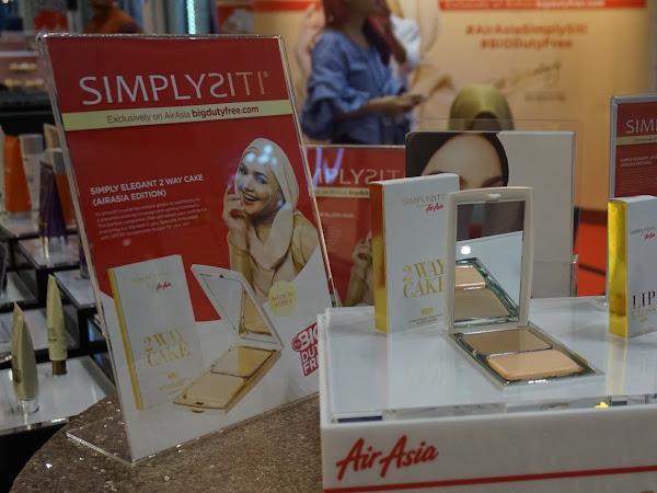 Kini Produk SimplySiti dalam penerbangan AirAsia