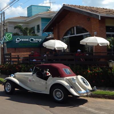 O restaurante Green Camp, na Praça da Lagoa dos Pássaros em Artur Nogueira, ficou lotado de amigos do MP Lafer.