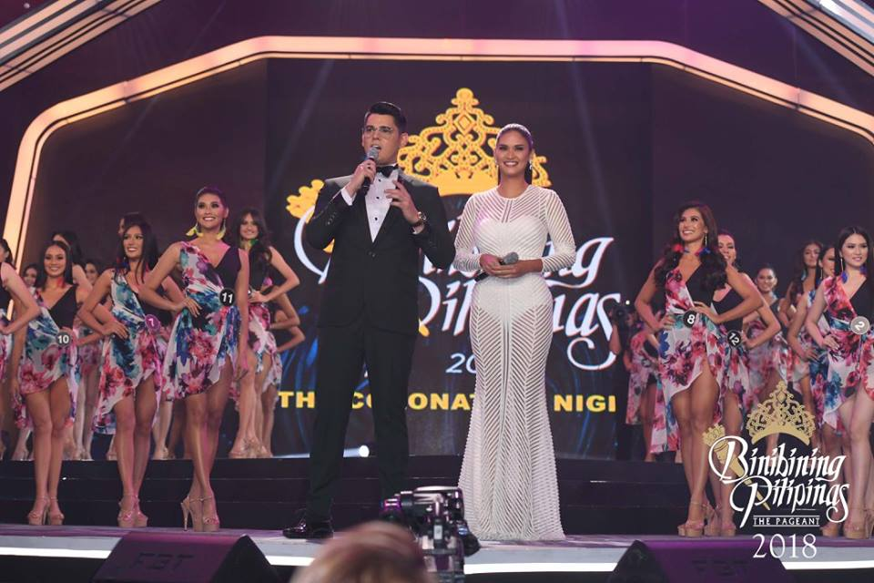 Miss Universe 2015 Pia Wurtzbach and Richard Gutierrez hosted Bb. Pilipinas 2018