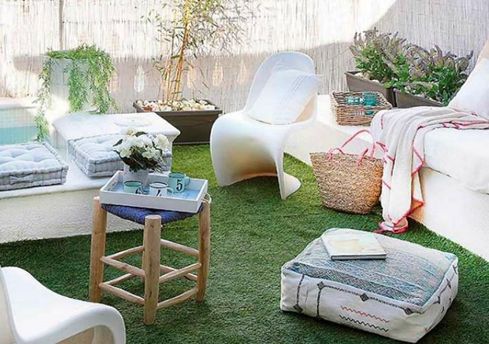 Decoraci n f cil como decorar tu terraza o jard n ideal for Decorar terraza atico economico