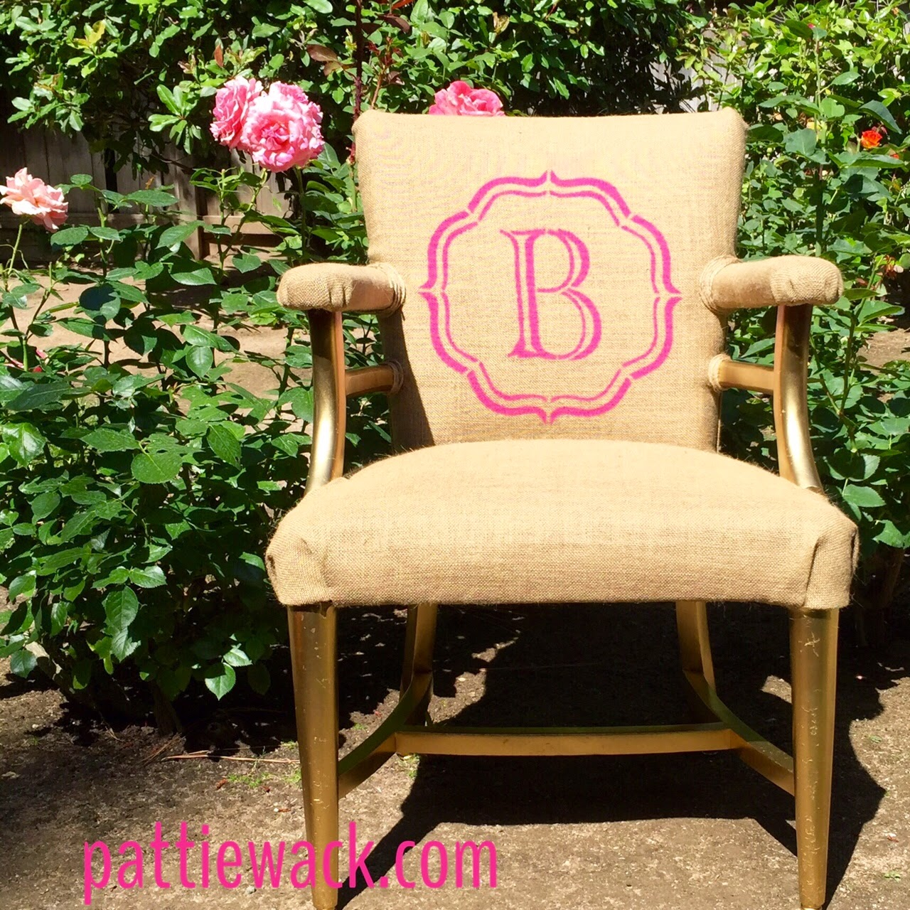 iLoveToCreate Blog: DIY Ugly Chair Makeover