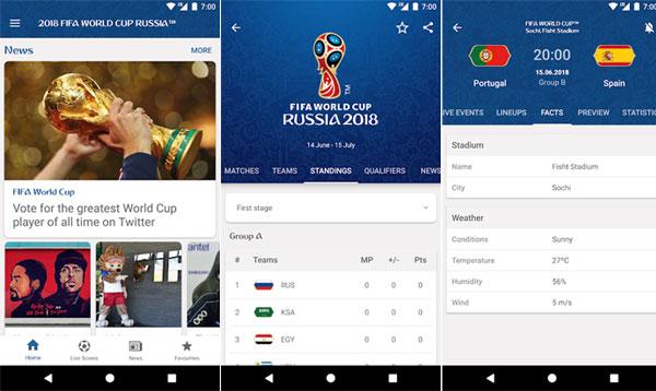 7 Aplikasi Piala Dunia 2018 Terbaik untuk Android!
